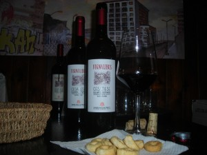 Vino dell'azienda Agricola Proietti Olevano Romano